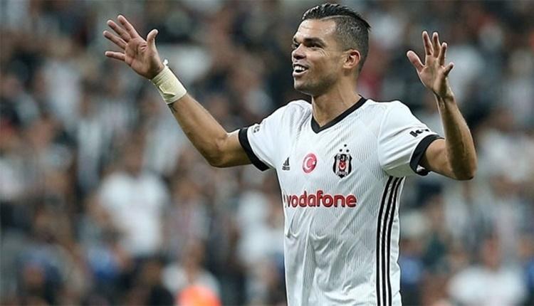 Beşiktaş'ın savunmacısı Pepe: