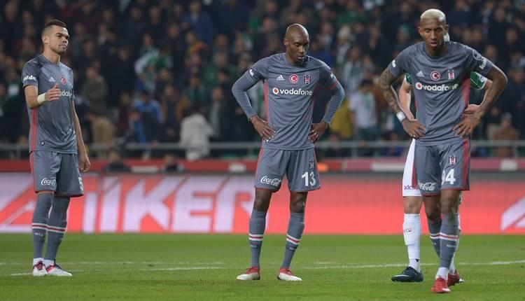 Beşiktaş'ta Fenerbahçe derbisi öncesi cezalı oyuncular