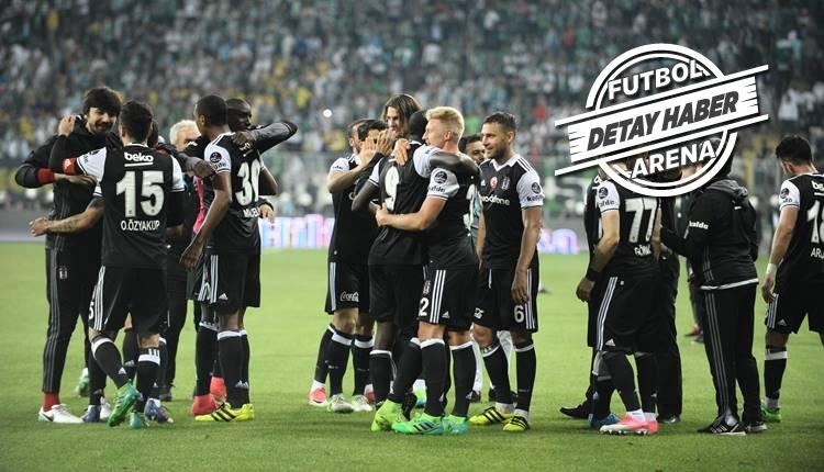Beşiktaş'tan Bursaspor'a büyük üstünlük