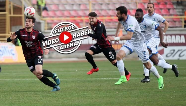 Boluspor 1-1 Erzurumspor maçı özeti ve golleri (İZLE)