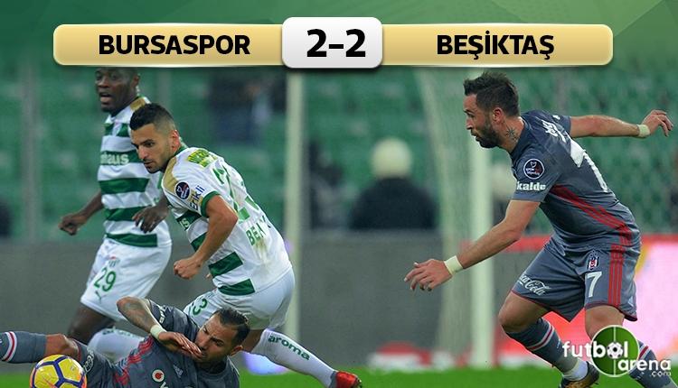 Bursa'da 4 gol var kazanan yok!