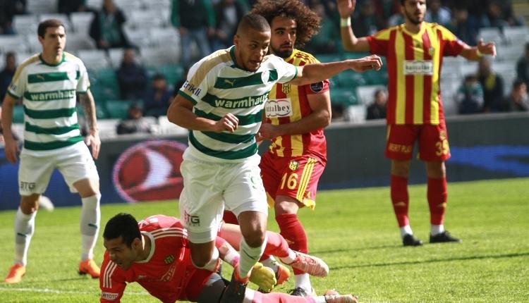 Bursaspor 0 - 0 Yeni Malatyaspor maç özeti (İZLE)