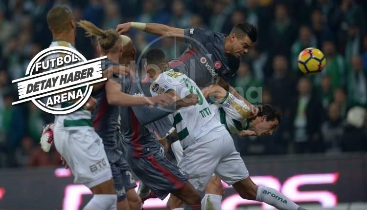 Bursaspor, Beşiktaş karşısında şeytanın bacağını kırdı