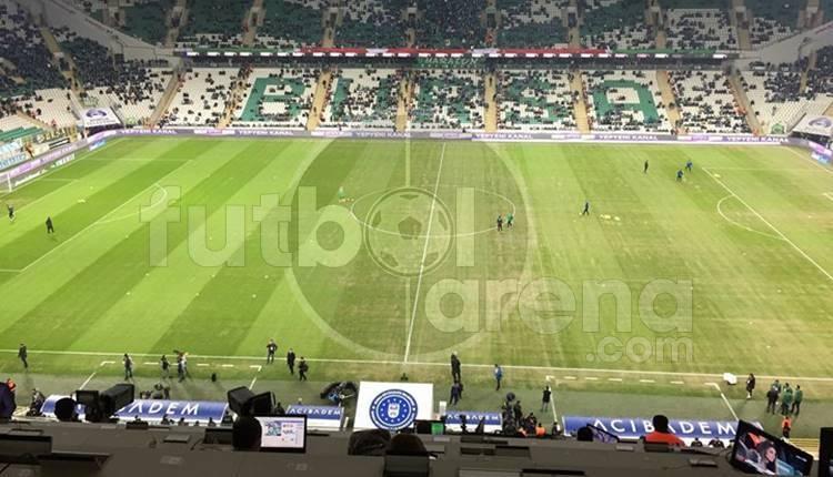 Bursaspor - Beşiktaş maçı öncesi kötü sürpriz!