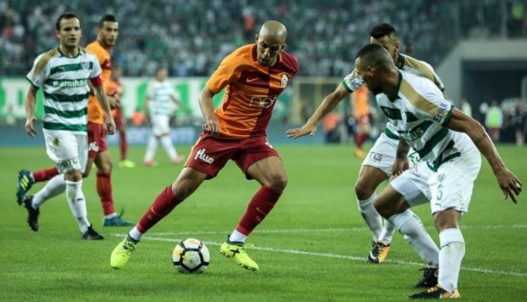 Bursaspor - Galatasaray maçı öncesi eksik ya da cezalı oyuncular
