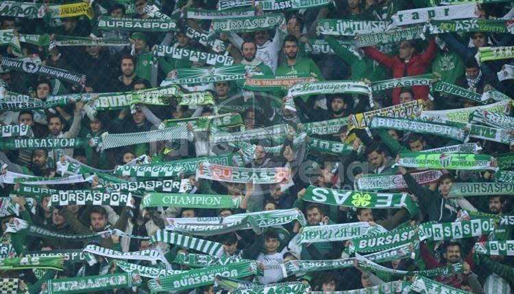 Bursaspor taraftarından Beşiktaş maçına özel ilgi