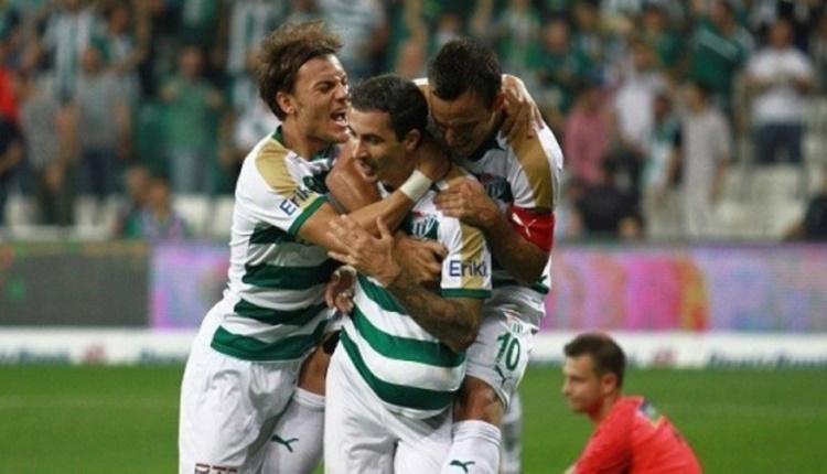 Bursaspor'da yerli futbolcuların attığı gol sayısı: 1