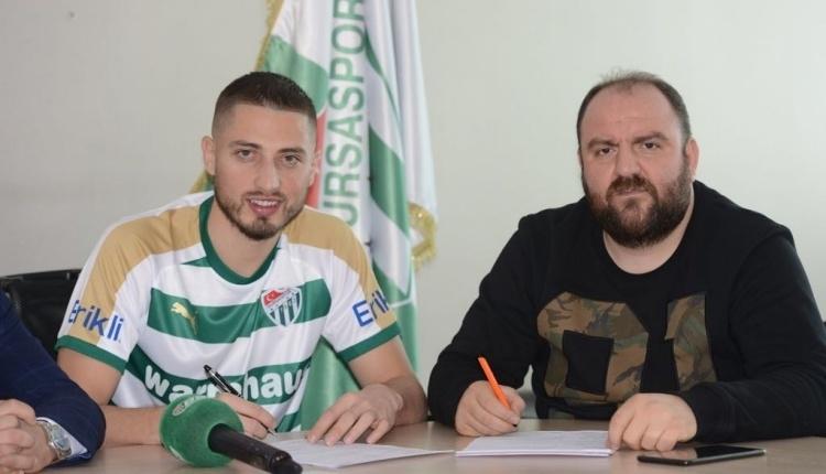 Bursaspor'da Grozav, Galatasaray'a cezalı duruma düştü