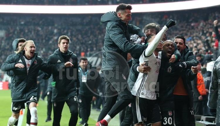 Çarşı, Beşiktaş'ın derbi zaferiyle bayram yerine döndü