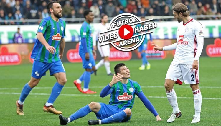 Çaykur Rizespor 0-3 Altınordu maçı özeti ve golleri (İZLE)