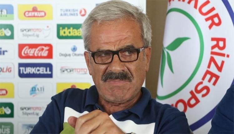 Çaykur Rizespor'da Hasan Yardımcı'dan oyuncularına tebrik