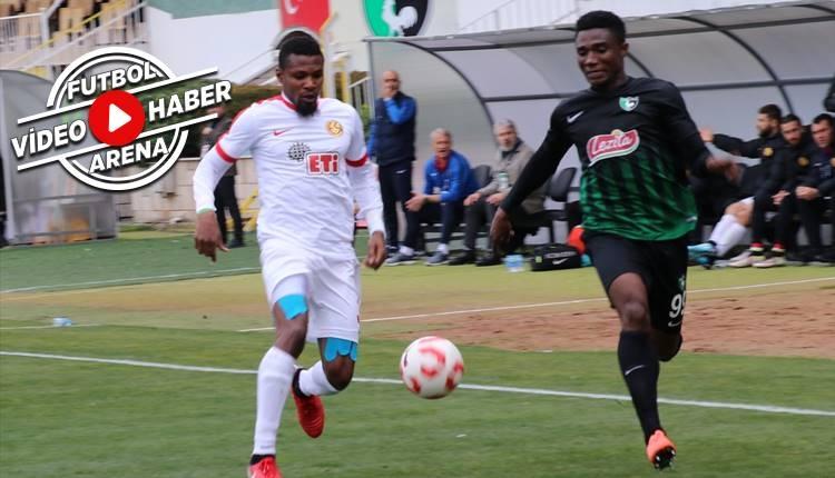 Denizlispor 0-2 Eskişehirspor maçı özeti ve golleri (İZLE)