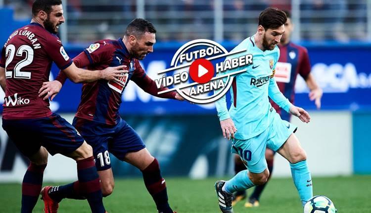 Eibar 0-2 Barcelona maçı özeti ve golleri (İZLE)