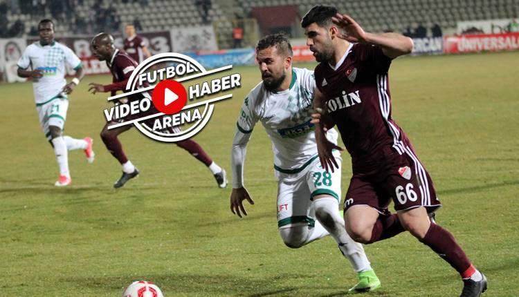 Elazığspor 2-1 Giresunspor maçı özeti ve golleri (İZLE)