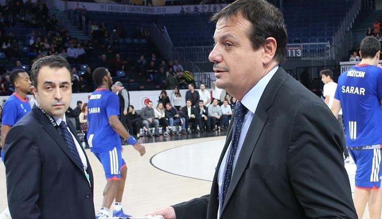 Ergin Ataman'dan Fenerbahçe'ye flaş gönderme