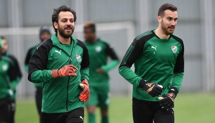 Erkan Kolçak Köstendil, Bursaspor ile antrenmana çıktı