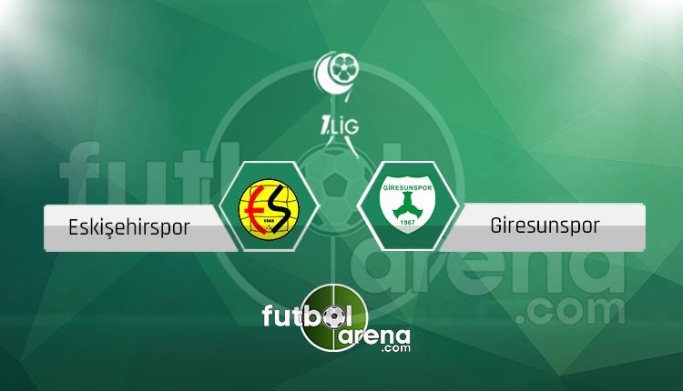 Eskişehirspor - Giresunspor maçı saat kaçta, hangi kanalda? (İddaa canlı skor)