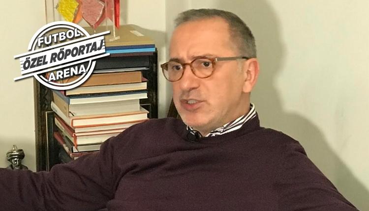 Fatih Altaylı'dan FutbolArena'ya özel açıklamalar