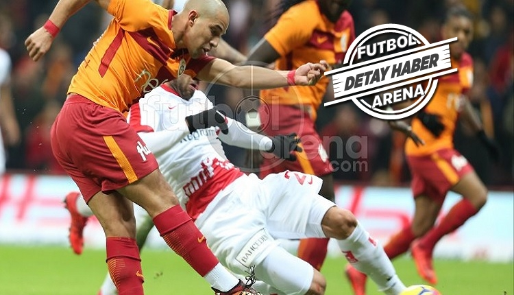 Feghouli Galatasaray'da zirve yaptı! Valencia ve West Ham'daki dönemini geçti