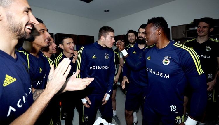Fenerbahçe idmanında Kameni ile Neustadter'e sürpriz