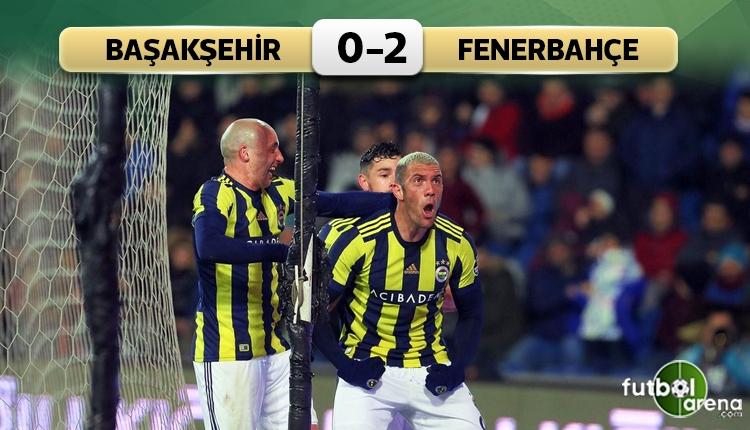 Medipol Başakşehir 0-2 Fenerbahçe maç özeti ve golleri (İZLE)