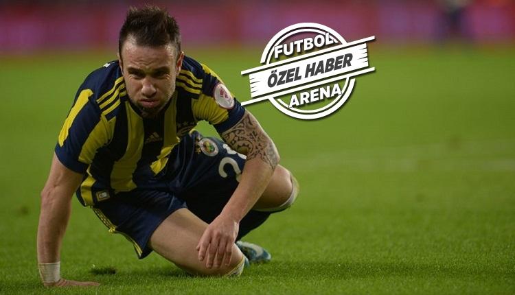 Fenerbahçe'de Valbuena şoku! Derbi öncesi sakatlandı