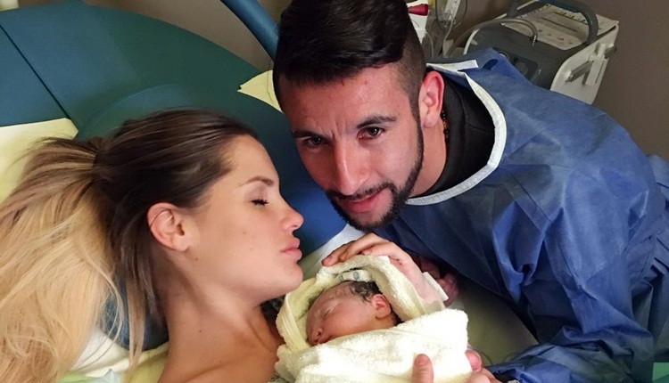 Fenerbahçeli Isla ikinci kez baba oldu! Luz Elif sevinci
