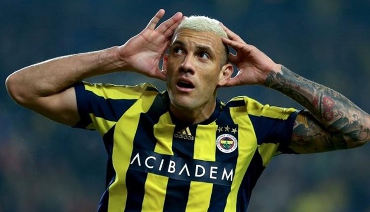 Fernandao, Fenerbahçe Doğuş'u tribünden destekledi
