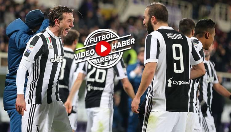 Fiorentina 0-2 Juventus maçı özeti ve golleri (İZLE)