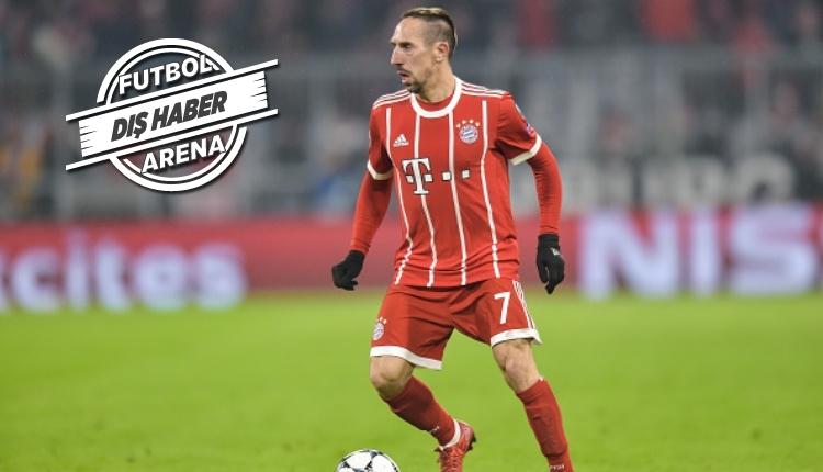 Franck Ribery için transfer sürprizi! Geri dönüyor...