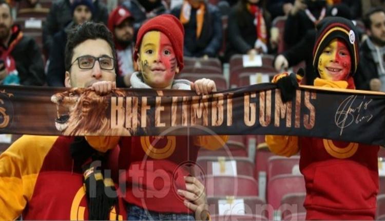 Galatasaray - Bursaspor maçının seyircisi sayısı
