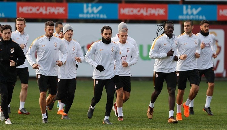 Galatasaray idmanında Fernando sevinci