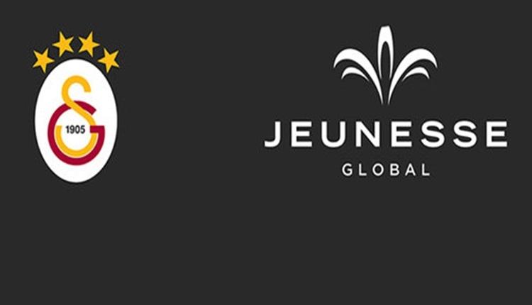 Galatasaray yeni sponsorunu açıkladı! Jeunesse Global ile imza töreni