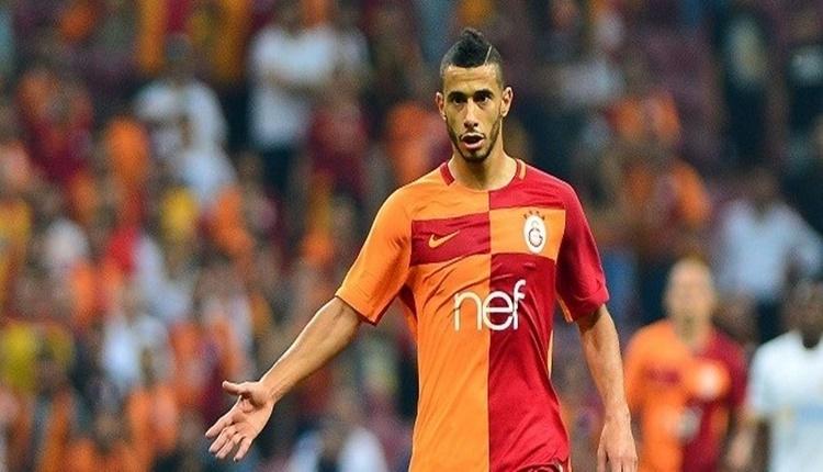 Galatasaray'da Younes Belhanda ilk 11'e geri dönüyor