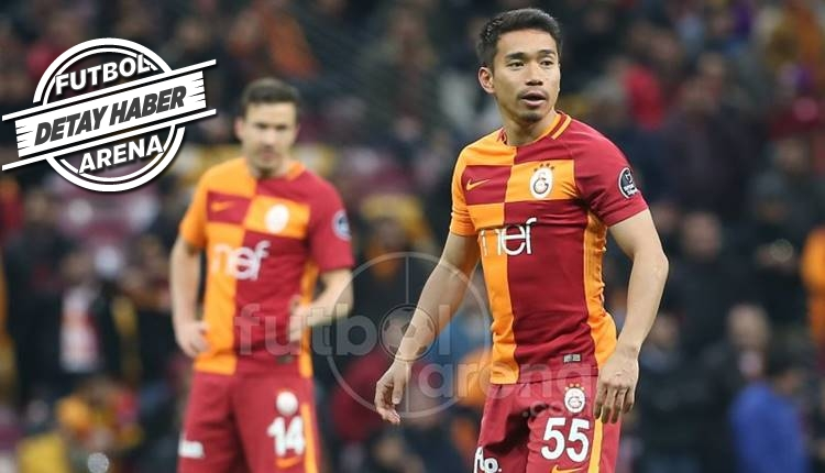 Galatasaray'ın en çalışkanı Japon Nagatomo