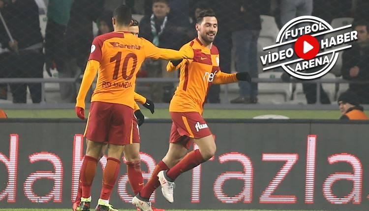 Galatasaray'ın kupa golcüsü Sinan Gümüş yine attı (İZLE)