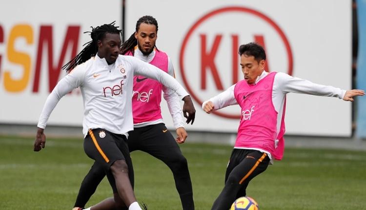 Galatasaraylı Nagatomo ilk antrenmanına çıktı