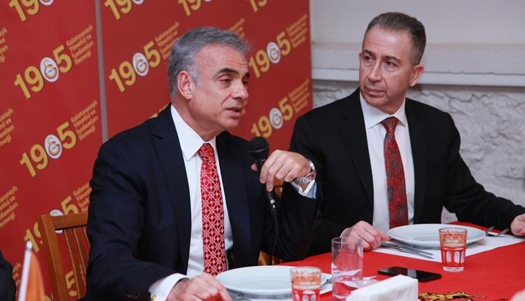 Gatasaray'ın eski asbaşkanı Mehmet Helvacı'dan Ünal Aysal'a tepki