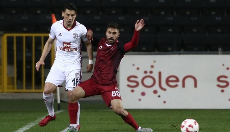 Gaziantepspor 0-1 Altınordu maç özeti ve golü (İZLE)