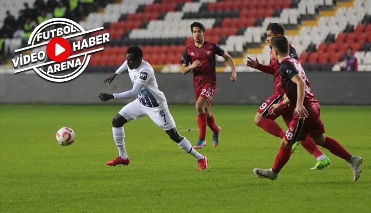 Gaziantepspor 0-3 Adana Demirspor maçı özeti ve golleri (İZLE)