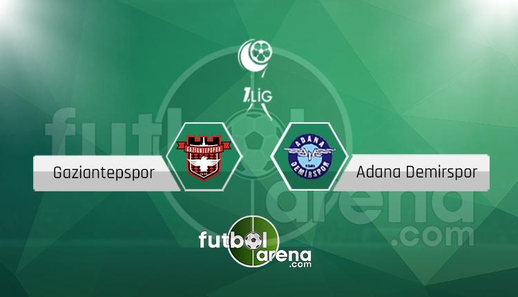 Gaziantepspor - Adana Demirspor maçı saat kaçta, hangi kanalda? (İddaa Canlı Skor)