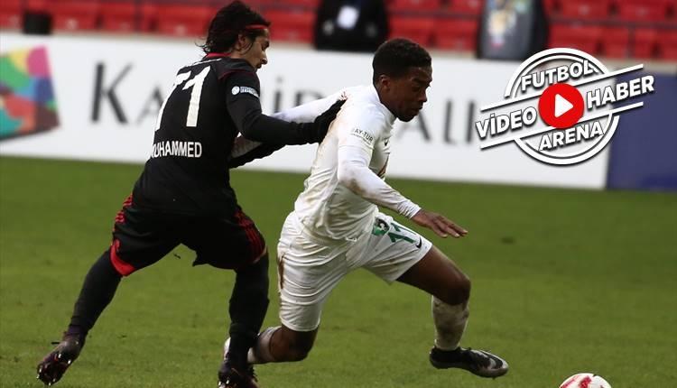 Gazişehir 0-2 Denizlispor maçı özeti ve golleri (İZLE)