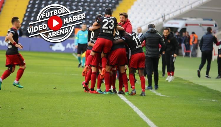 Gazişehir 2-0 İstanbulspor maçı özeti ve golleri (İZLE)