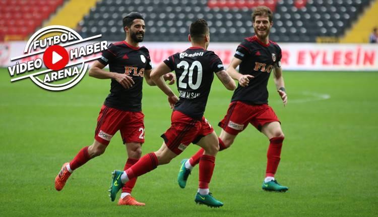 Gazişehir Gaziantep 2-0 Boluspor maçı özeti ve golleri (İZLE)