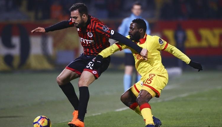 Gençlerbirliği 3-0 Göztepe maç özeti ve golleri (İZLE)