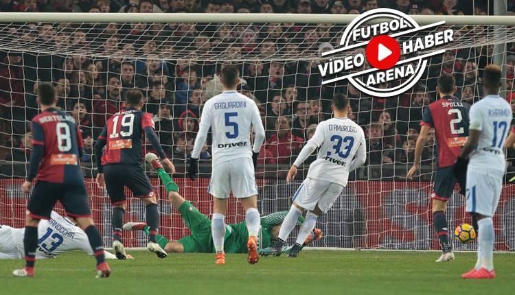 Genoa 2-0 İnter maçı özeti ve golleri (İZLE)