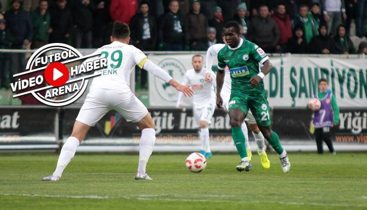 Giresunspor 0-2 Denizlispor maçı özeti ve golleri (İZLE)