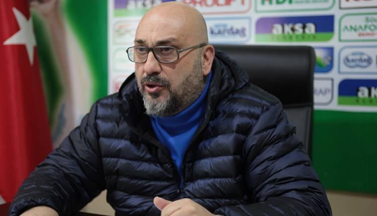 Giresunspor Başkanı Mustafa Bozbağ'dan Süper Lig açıklaması
