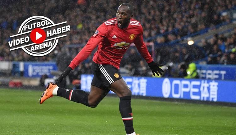 Huddersfield Town 0-2 Manchester United maçı özeti ve golleri (İZLE)