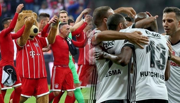 İddaa'nın Bayern Münih maçı için Beşiktaş'a verdiği oran